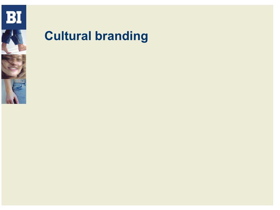 Cultural branding