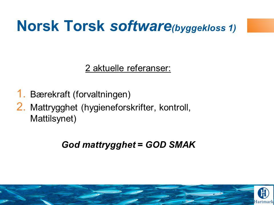 Norsk Torsk software(byggekloss 1)