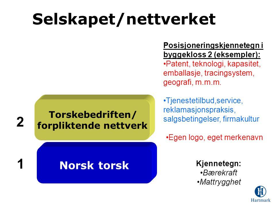 Selskapet/nettverket forpliktende nettverk
