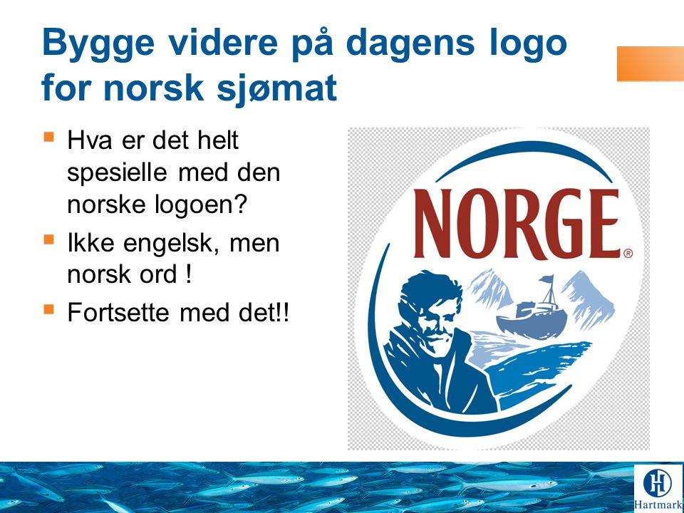 Bygge videre på dagens logo for norsk sjømat