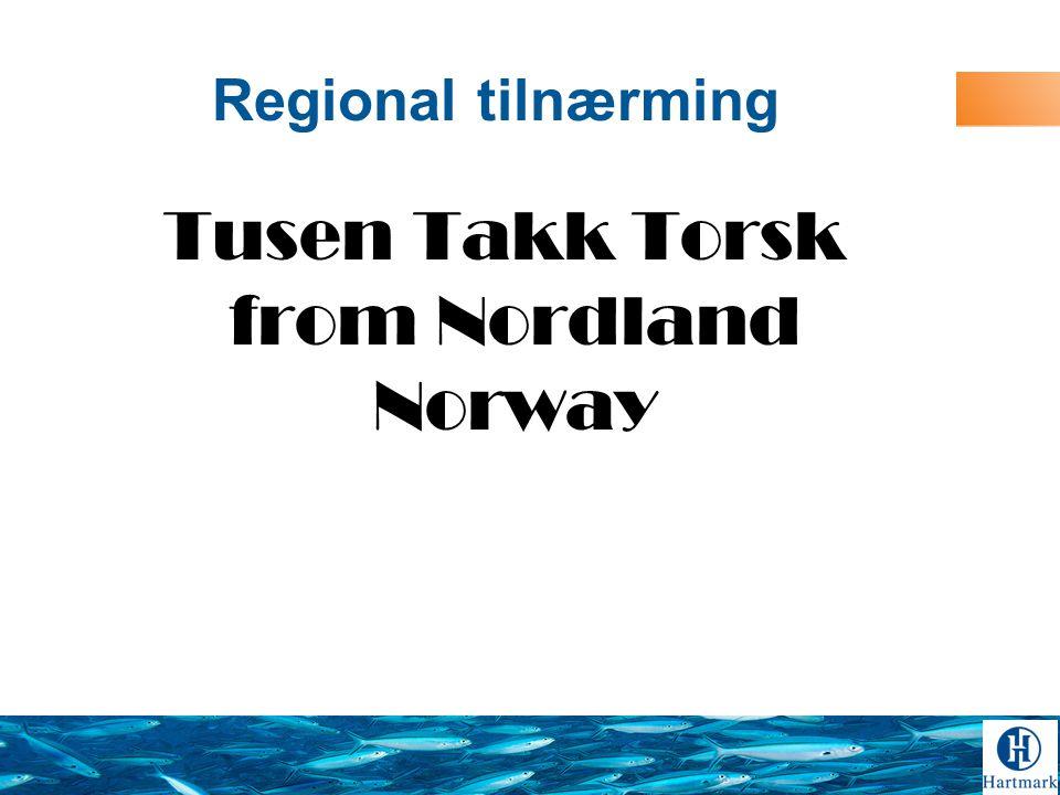 Tusen Takk Torsk from Nordland Norway