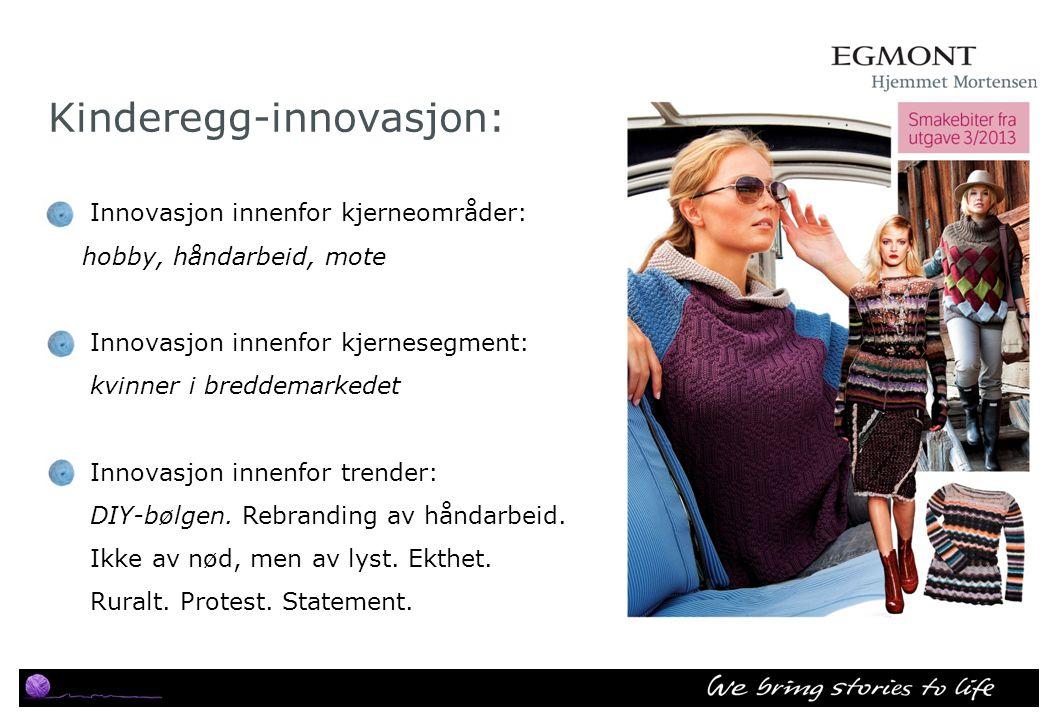 Kinderegg-innovasjon: