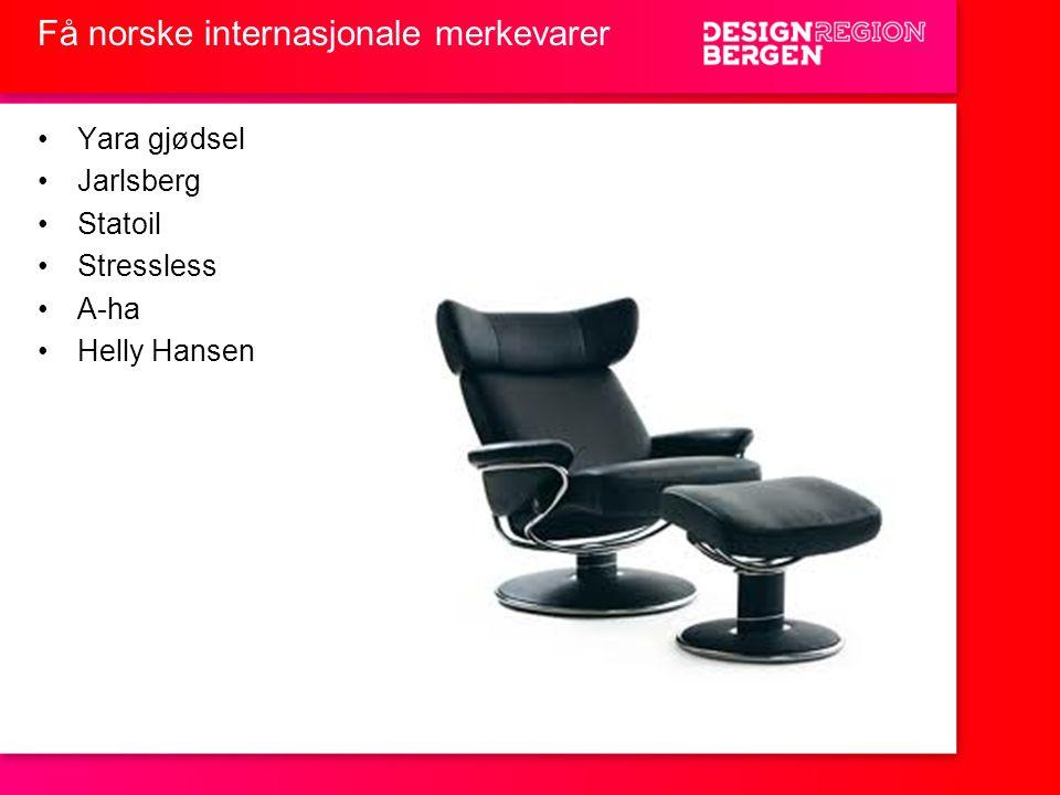Få norske internasjonale merkevarer
