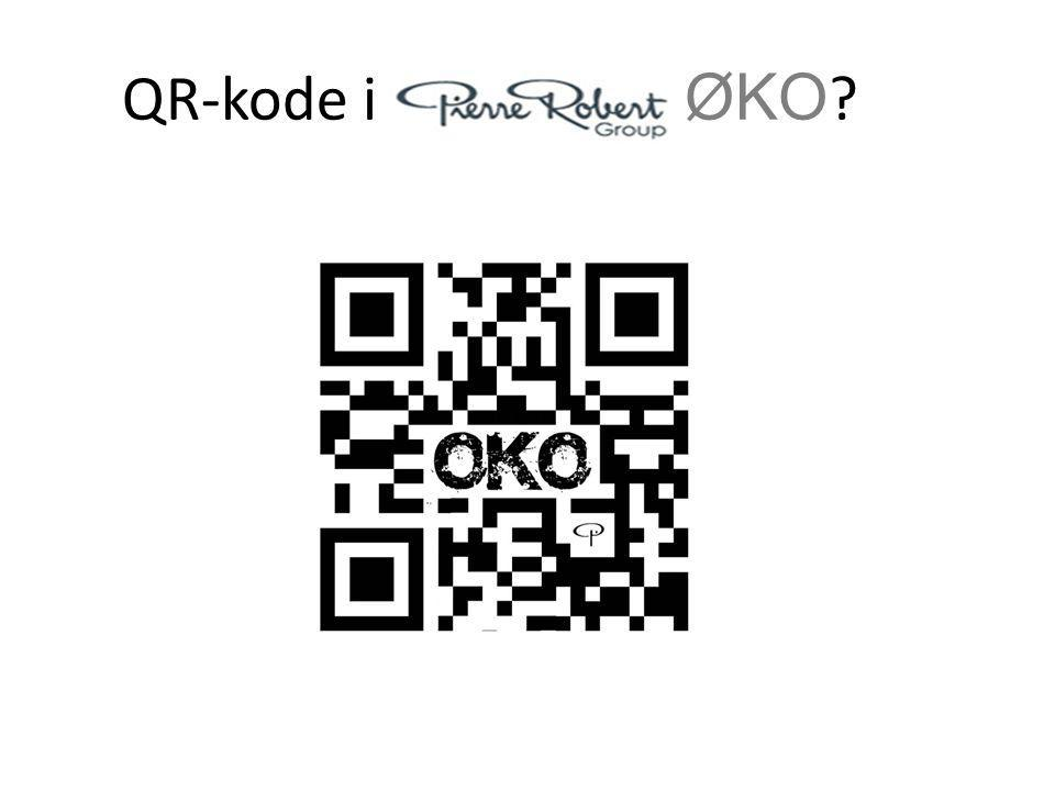 QR-kode i ØKO