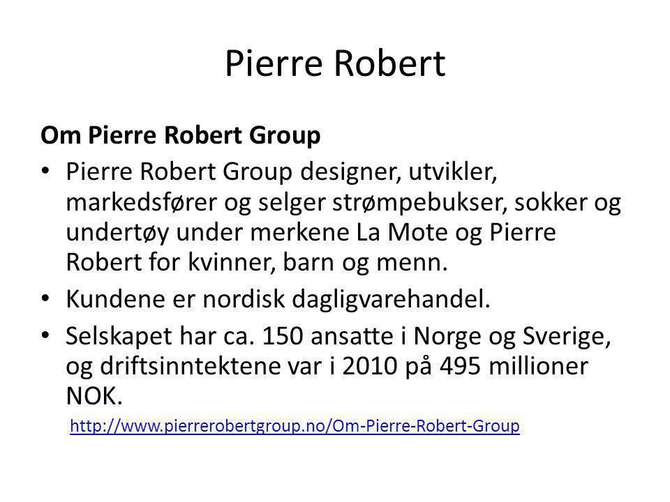 Pierre Robert Om Pierre Robert Group