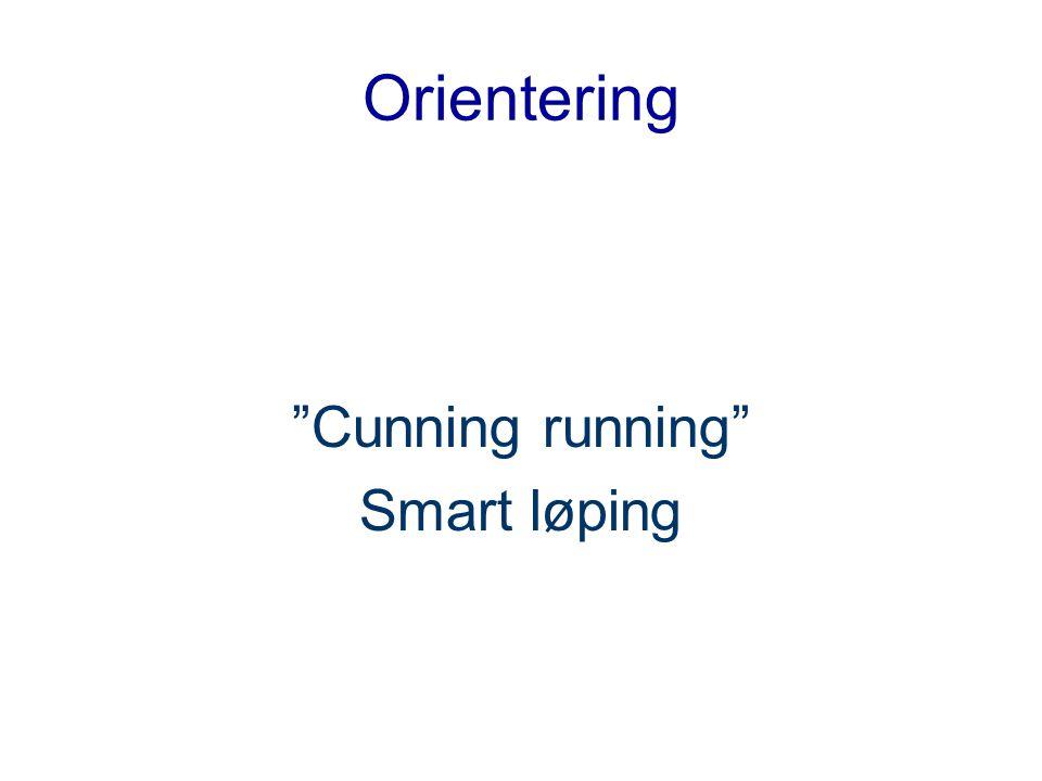 Orientering Cunning running Smart løping
