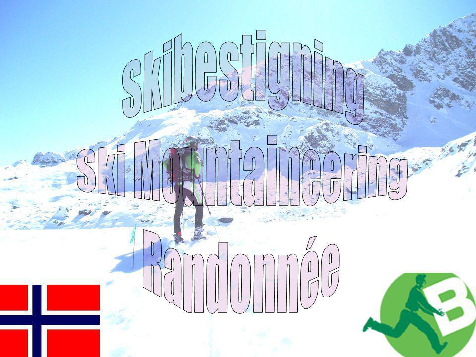 Skibestigning Ski Mountaineering Randonnée