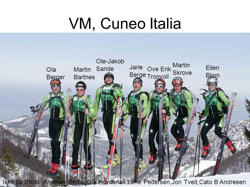 VM, Cuneo Italia Ole-Jakob Sande Martin Skrove Jarle Berge Ellen Blom