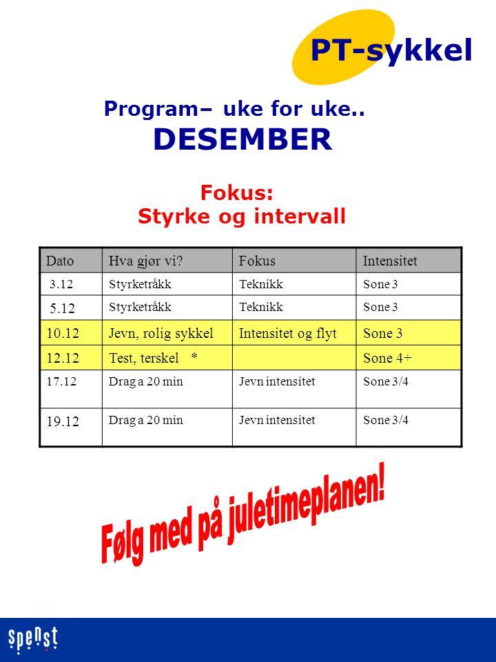 Følg med på juletimeplanen!