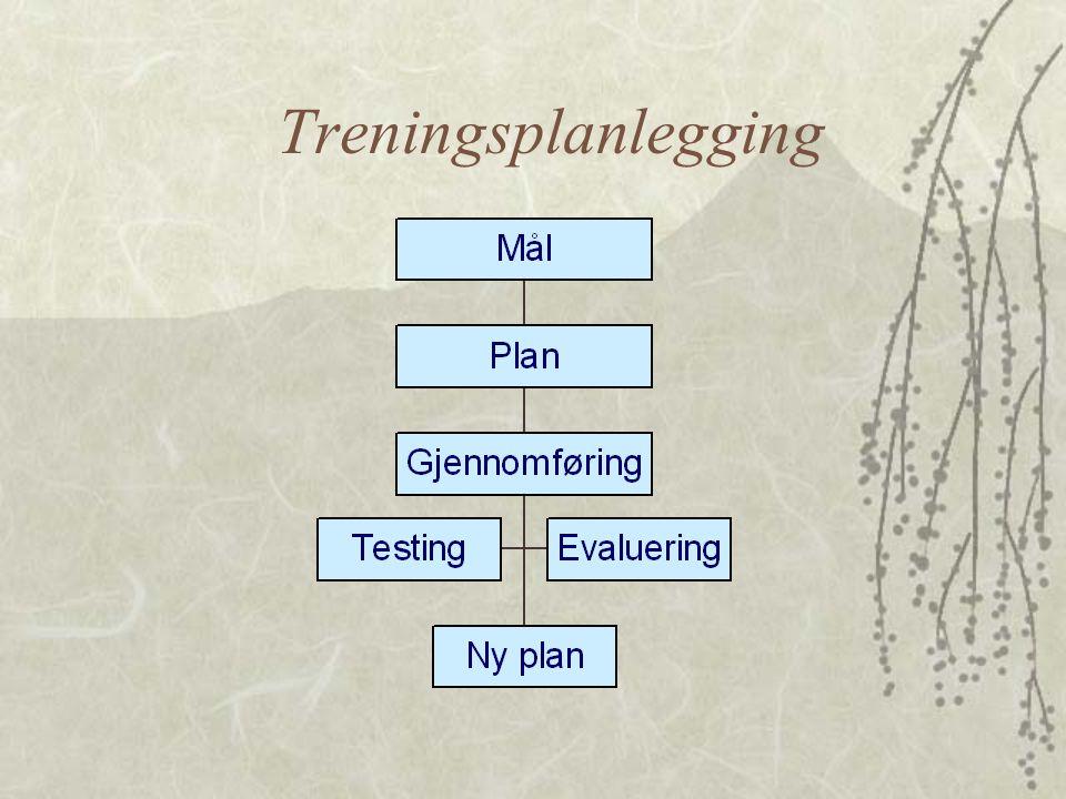 Treningsplanlegging