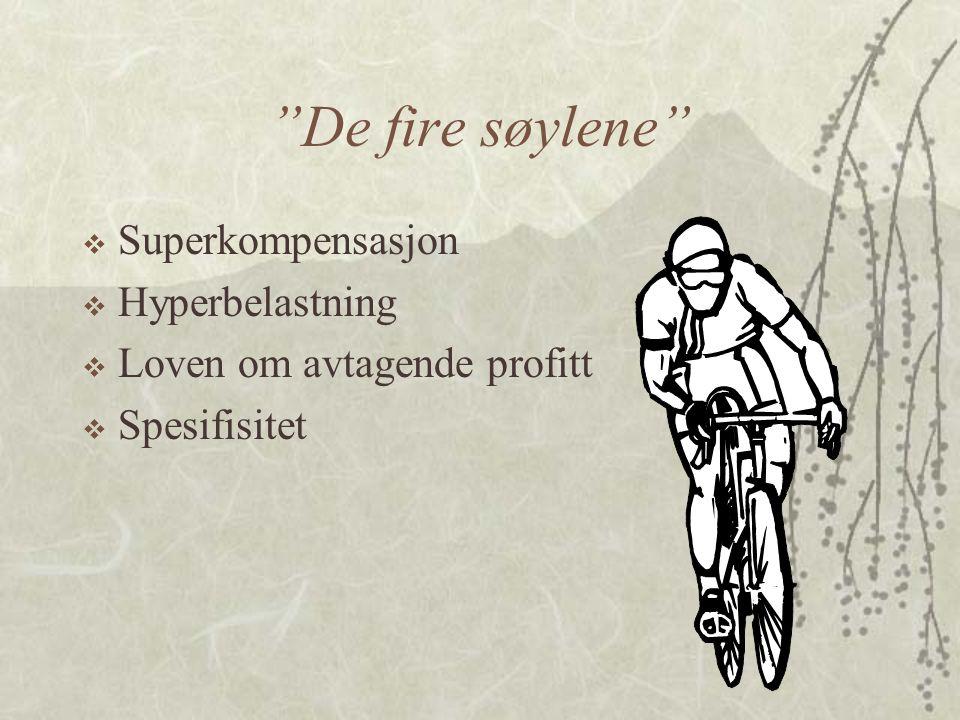 De fire søylene Superkompensasjon Hyperbelastning