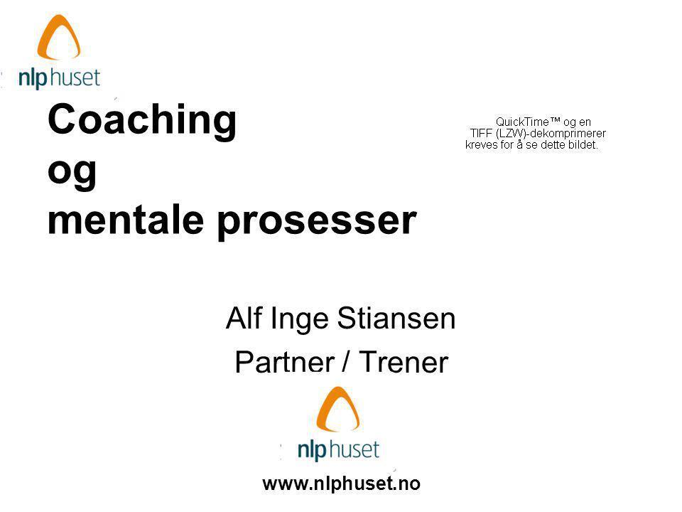 Coaching og mentale prosesser