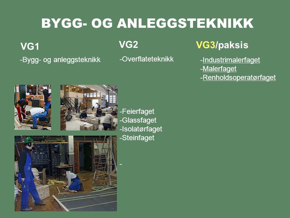 BYGG- OG ANLEGGSTEKNIKK