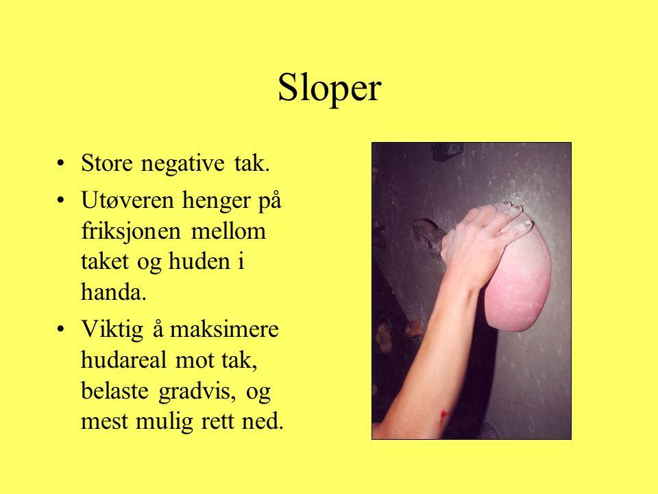 Sloper Store negative tak.
