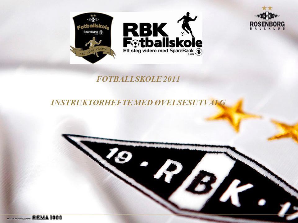 FOTBALLSKOLE 2011 INSTRUKTØRHEFTE MED ØVELSESUTVALG