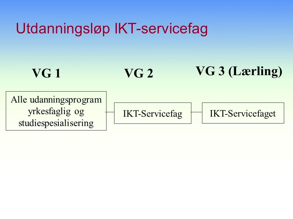 Utdanningsløp IKT-servicefag