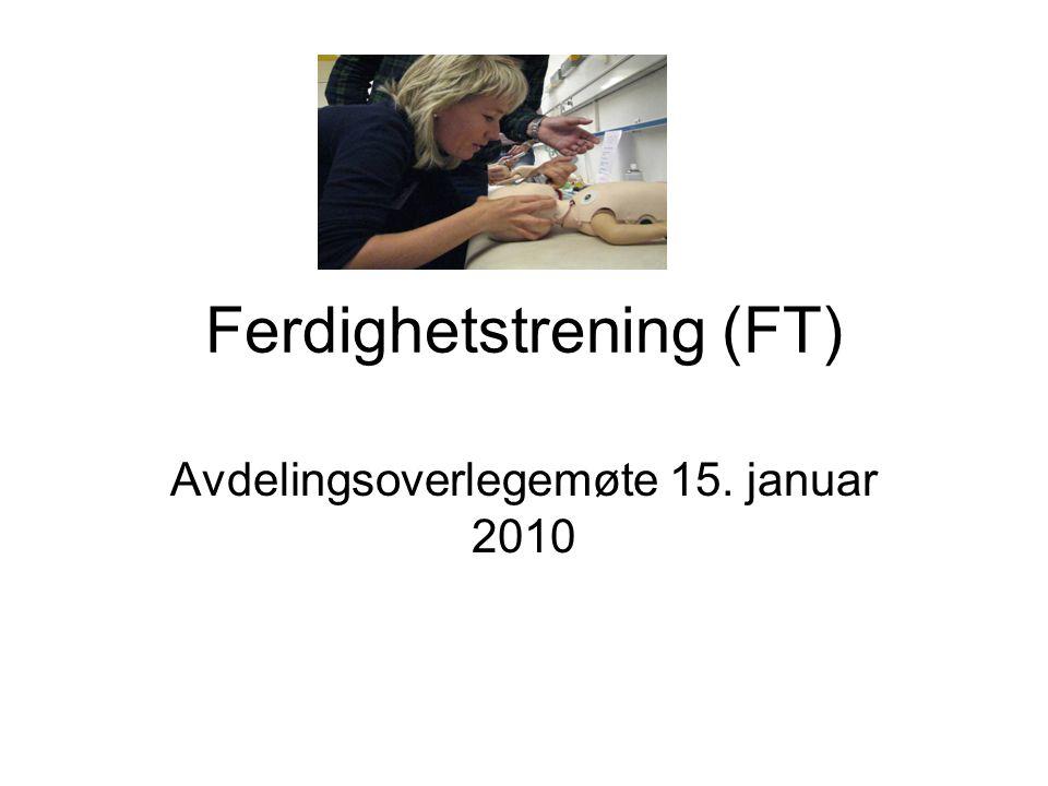 Ferdighetstrening (FT)