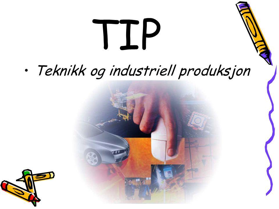 TIP Teknikk og industriell produksjon