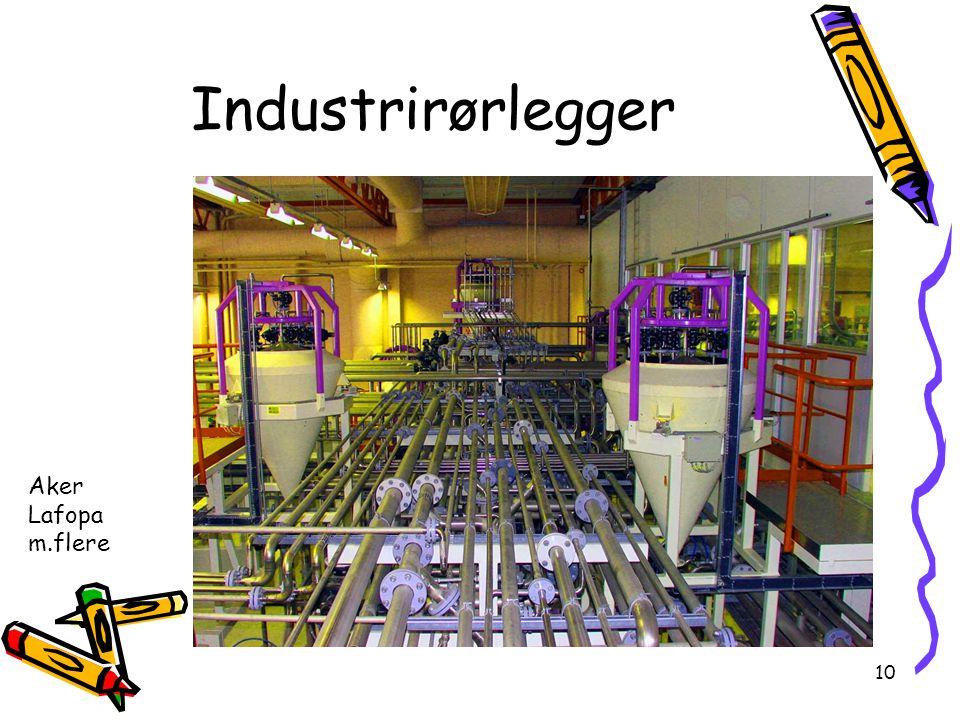 Industrirørlegger Aker Lafopa m.flere