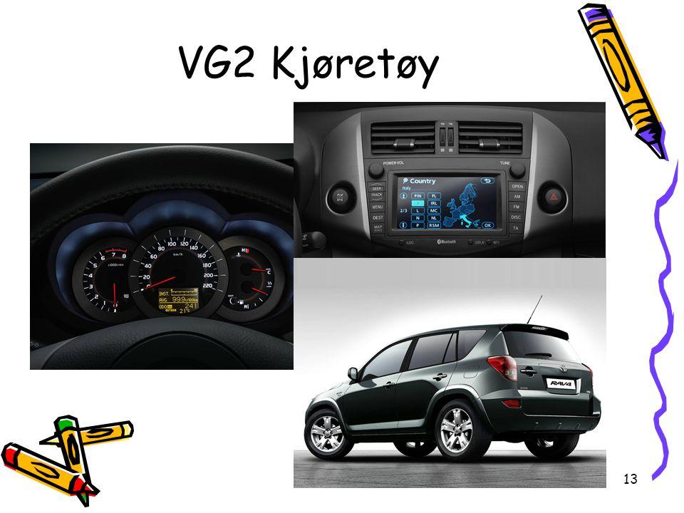 VG2 Kjøretøy