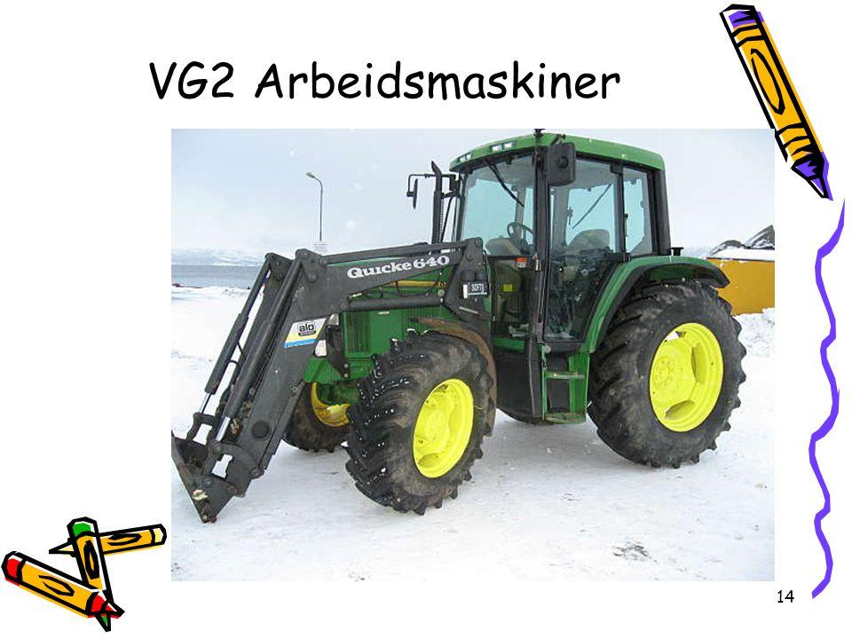 VG2 Arbeidsmaskiner