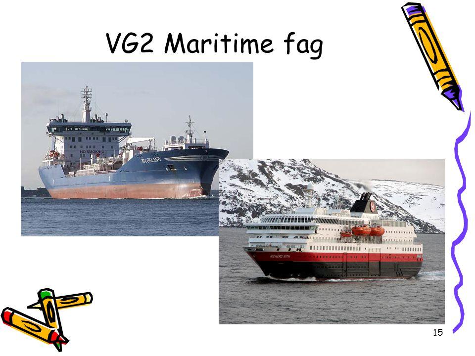 VG2 Maritime fag