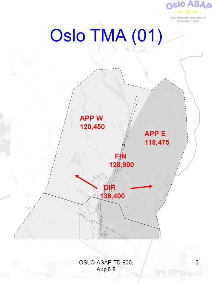 Oslo TMA (01) APP W 120,450 APP E 118,475 FIN 128,900 DIR 136,400