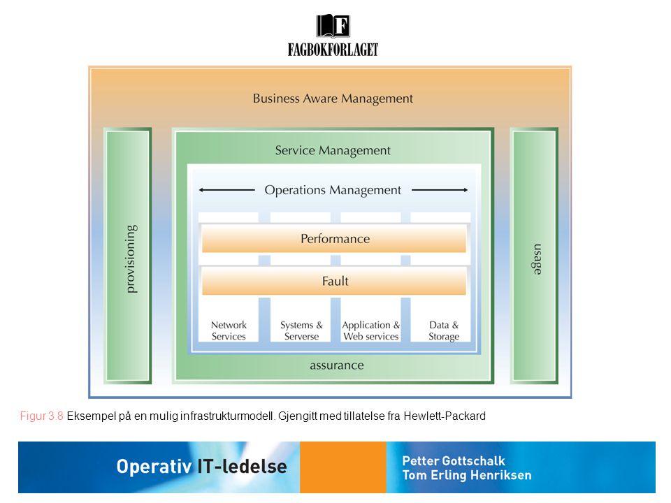 Figur 3. 8 Eksempel på en mulig infrastrukturmodell