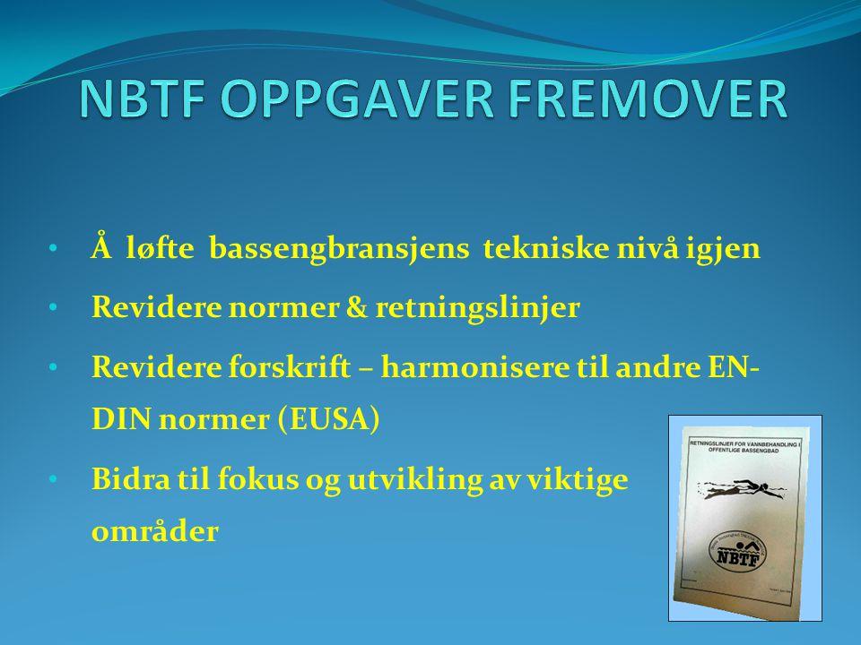 NBTF OPPGAVER FREMOVER