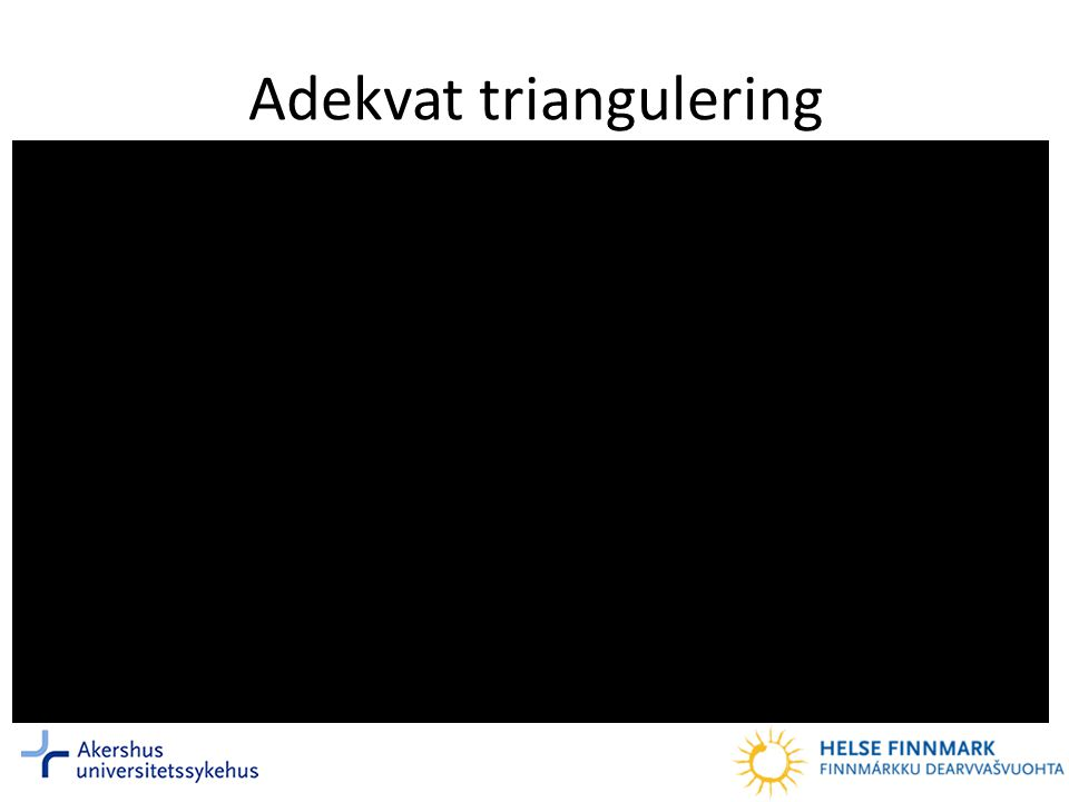 Adekvat triangulering