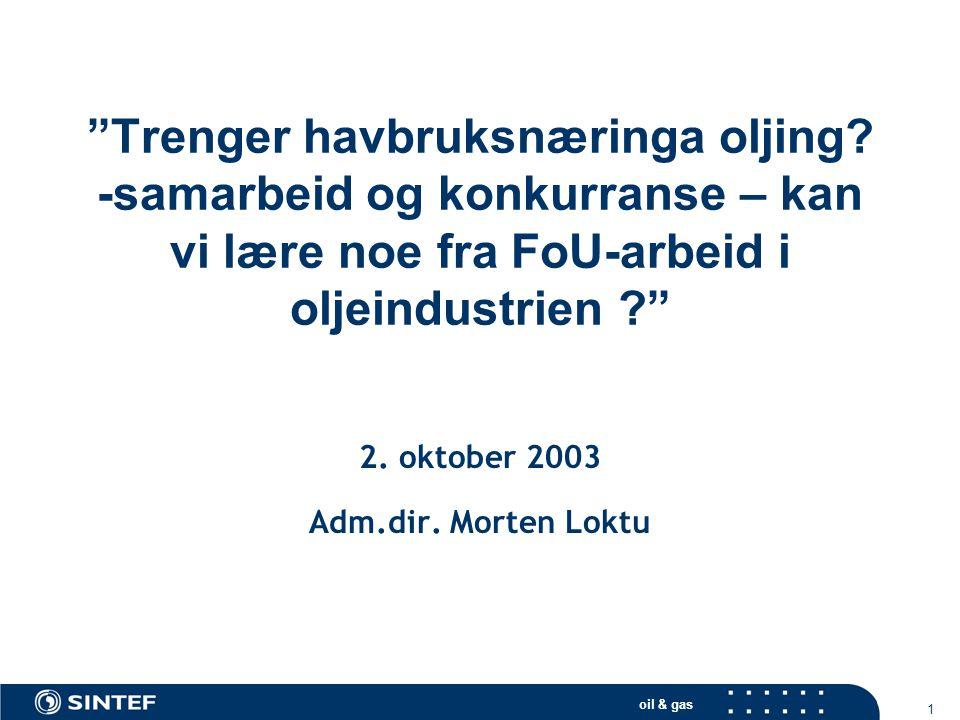 2. oktober 2003 Adm.dir. Morten Loktu