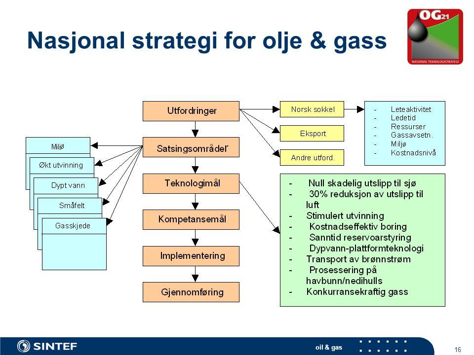 Nasjonal strategi for olje & gass