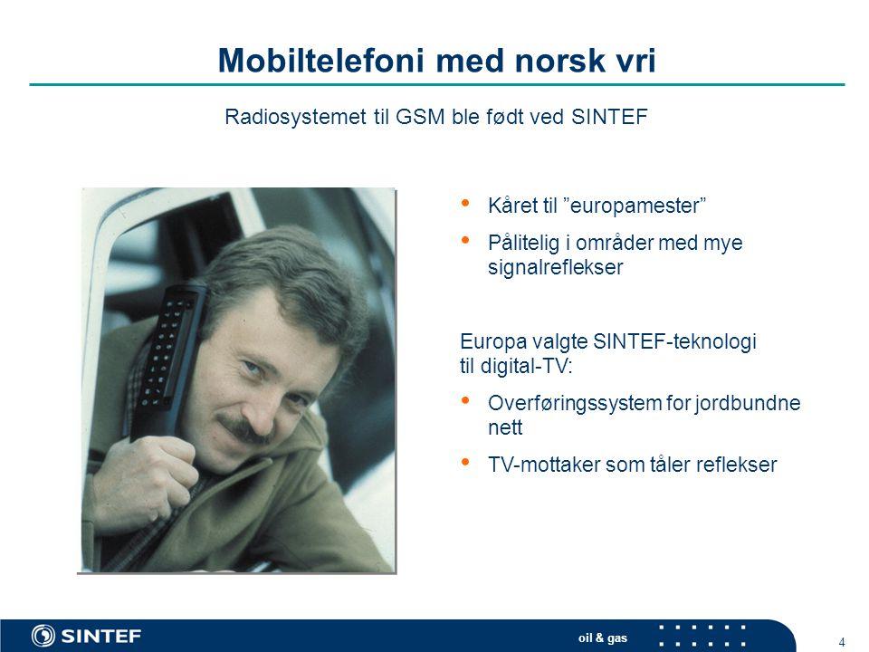 Mobiltelefoni med norsk vri