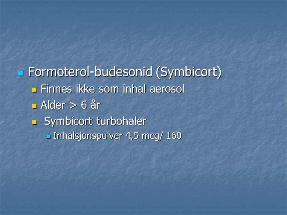Formoterol-budesonid (Symbicort)