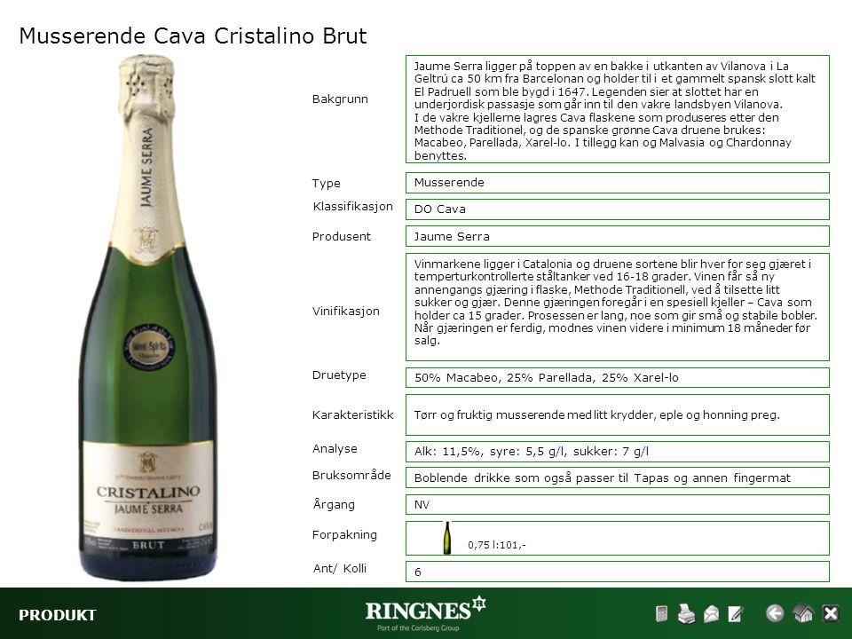 Musserende Cava Cristalino Brut