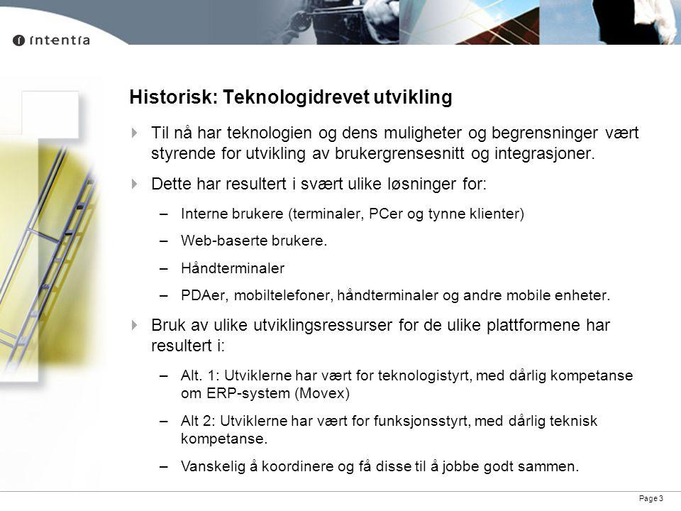 Historisk: Teknologidrevet utvikling