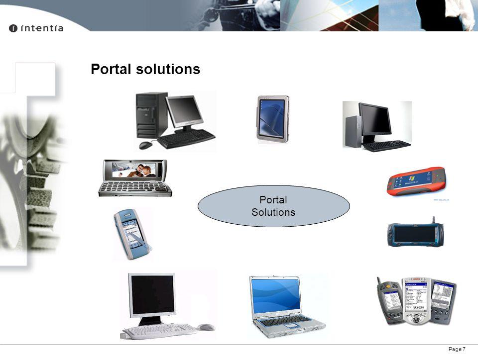 Portal solutions Portal Solutions