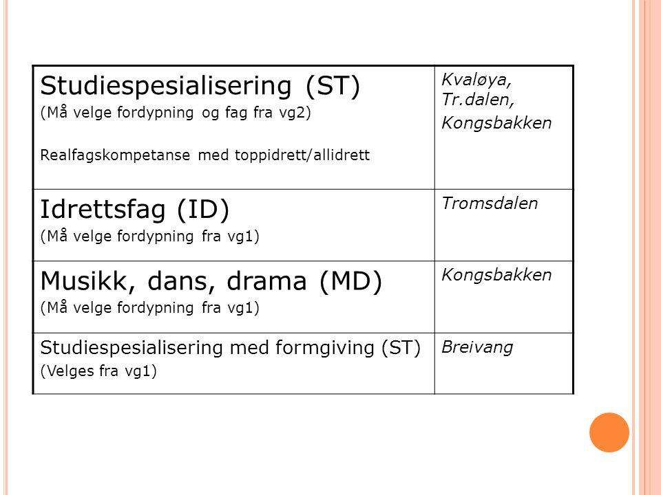 Studiespesialisering (ST)