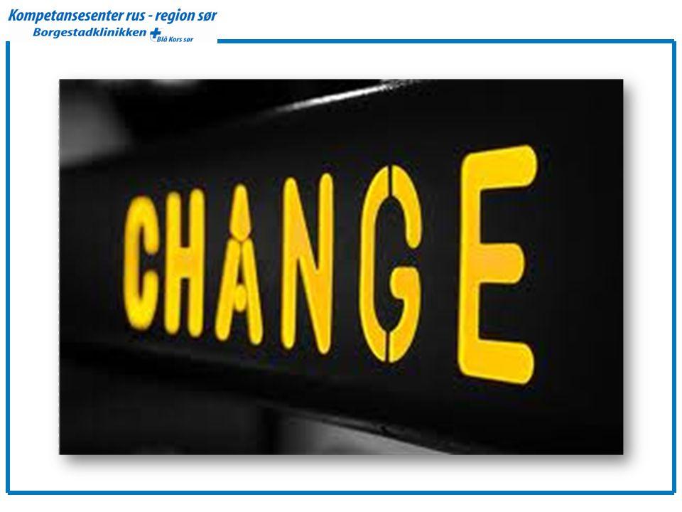 Vi skal snakke om veier til endring og hvordan vi som fagfolk best mulig kan legge til rette for dette