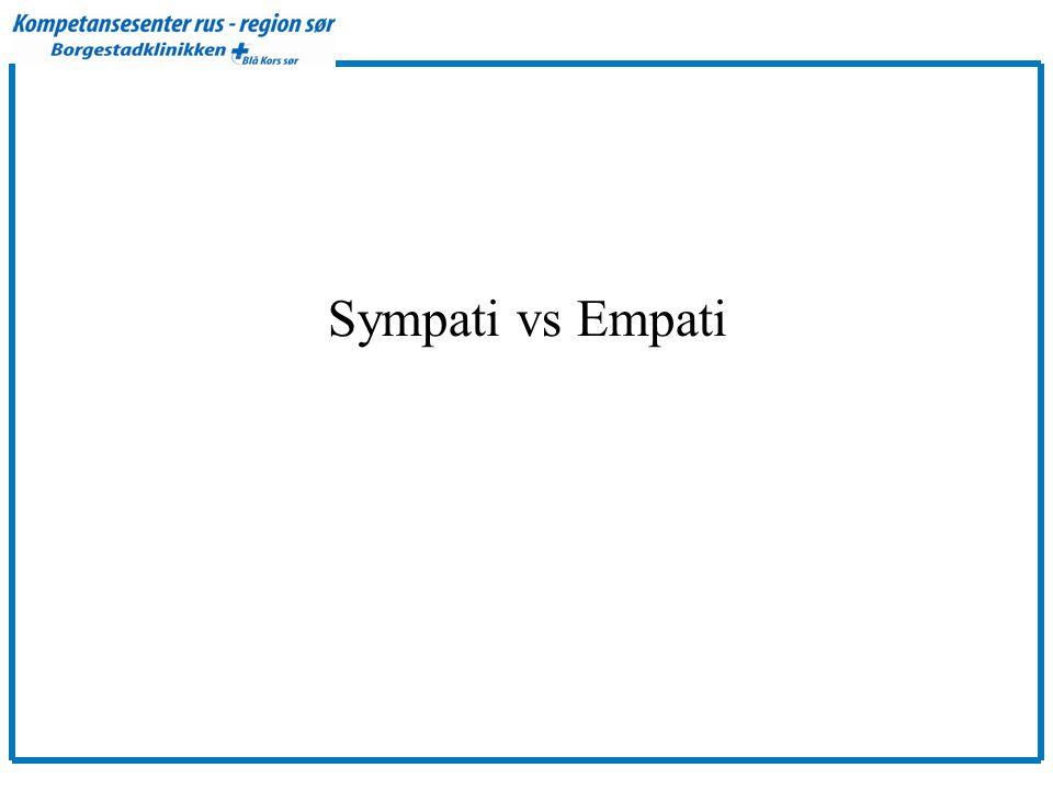 Sympati vs Empati