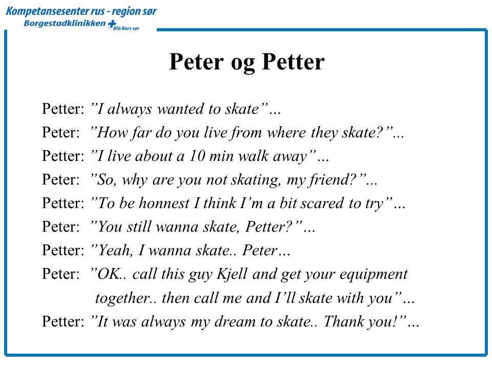 Peter og Petter