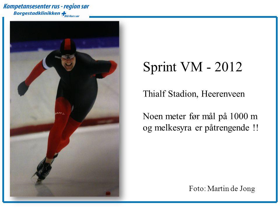 Sprint VM - 2012 Thialf Stadion, Heerenveen