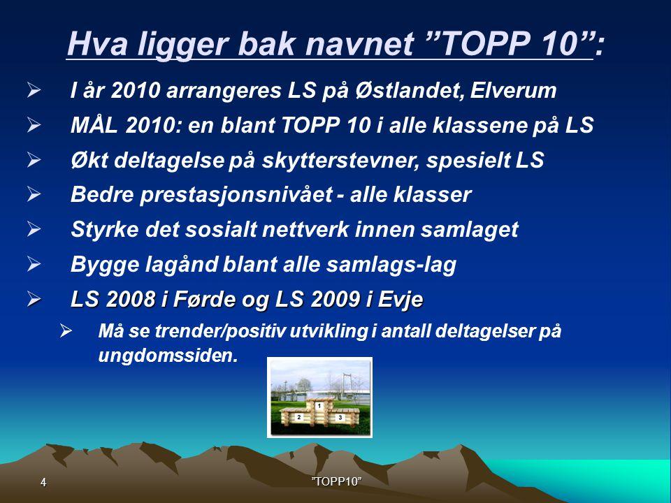 Hva ligger bak navnet TOPP 10 :