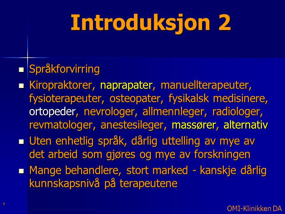 Introduksjon 2 Språkforvirring