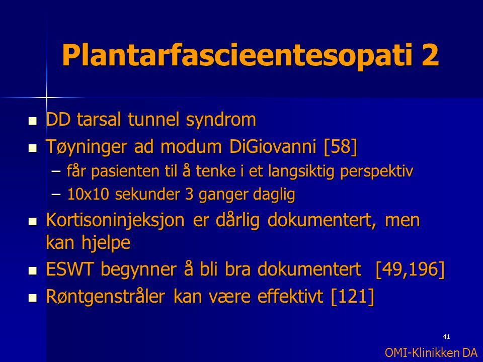 Plantarfascieentesopati 2