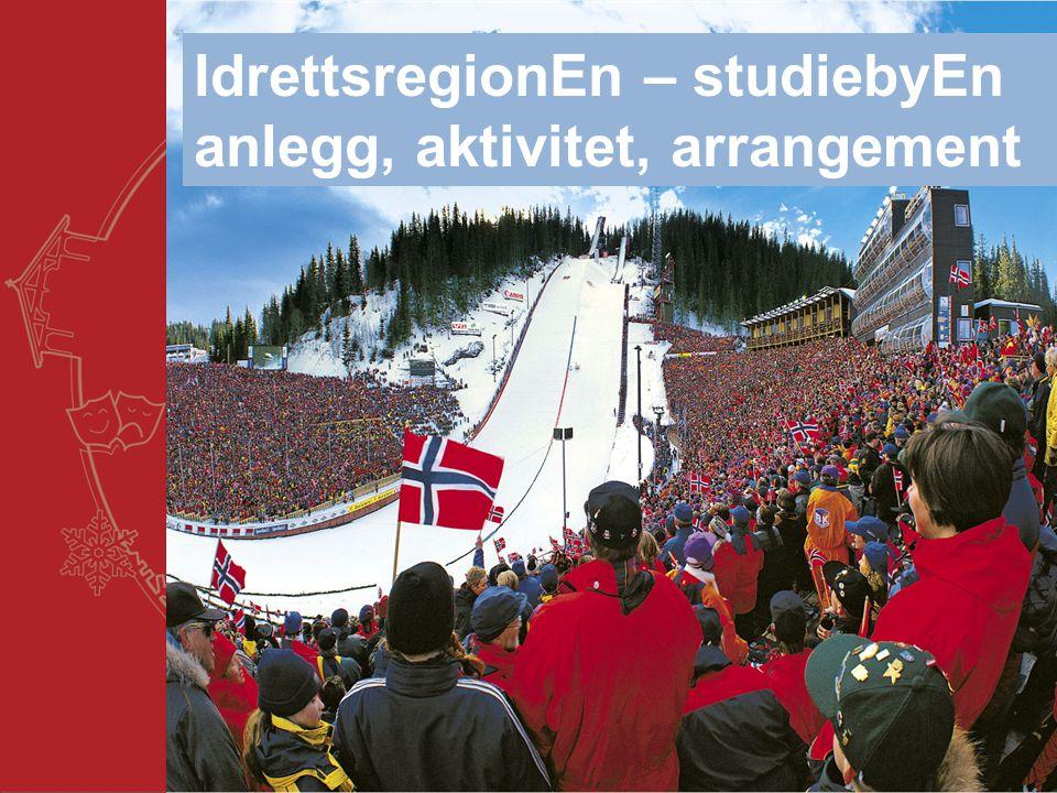 IdrettsregionEn – studiebyEn anlegg, aktivitet, arrangement