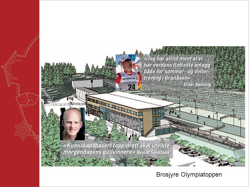 Brosjyre Olympiatoppen
