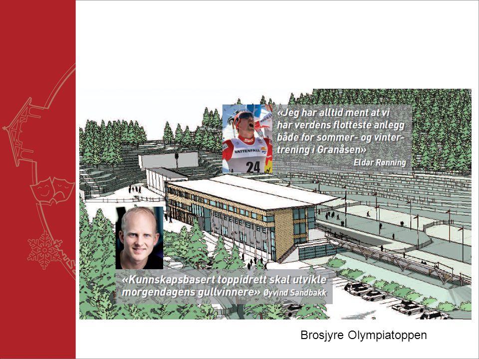 Brosjyre Olympiatoppen