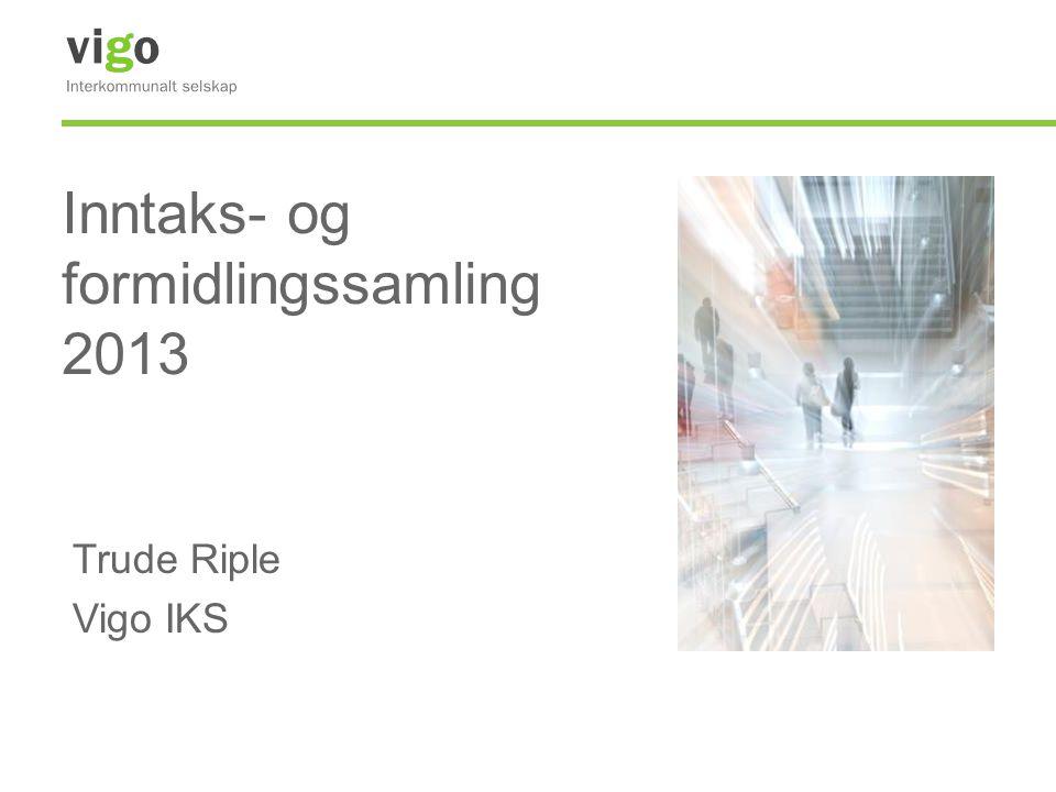 Inntaks- og formidlingssamling 2013