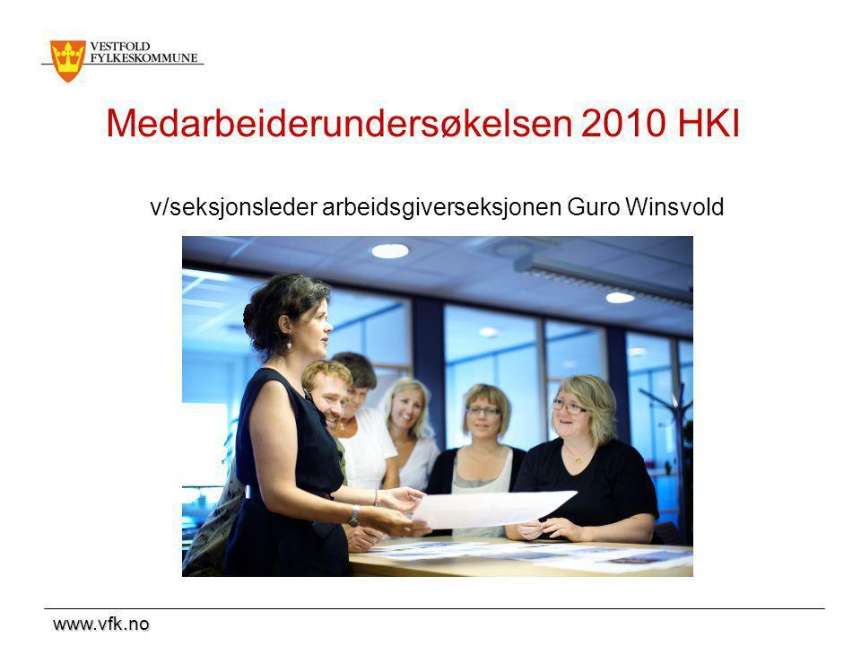 Medarbeiderundersøkelsen 2010 HKI